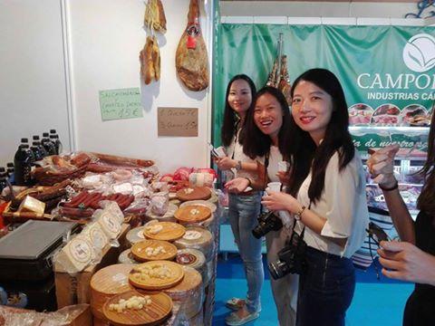 Chinese Friendly cubrió el evento de Agroporc en Carmona